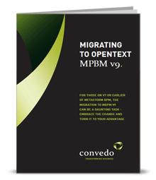 Migration to OpenText MBPM v0